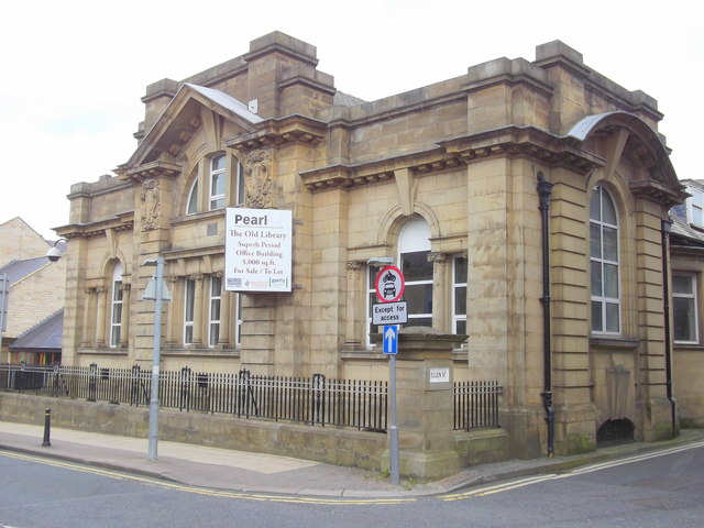 """""""The Old Library"""" Nelson, Lancashire"""
