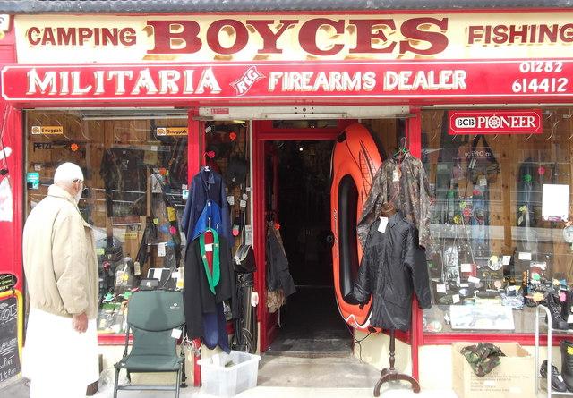 """Boyces"" 44 Manchester Road, Nelson, Lancashire BB9 7EJ"