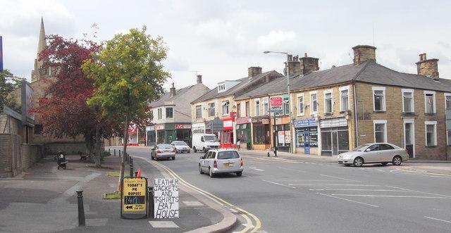 Manchester Road, Nelson, Lancashire