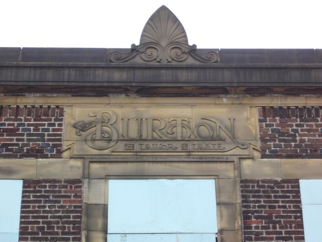 "Montague Burton ""The Tailor of Taste"" Scotland Road, Nelson Lancashire"