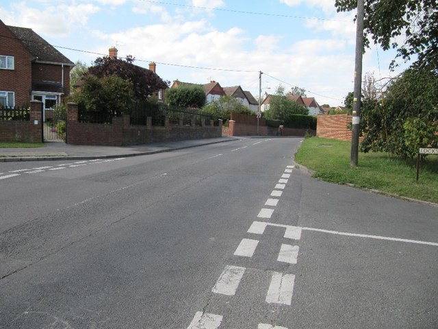 Ham Road from the junction