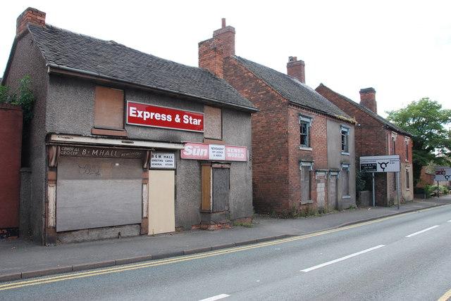 Due for Demolition, Hednesford Road, Cannock