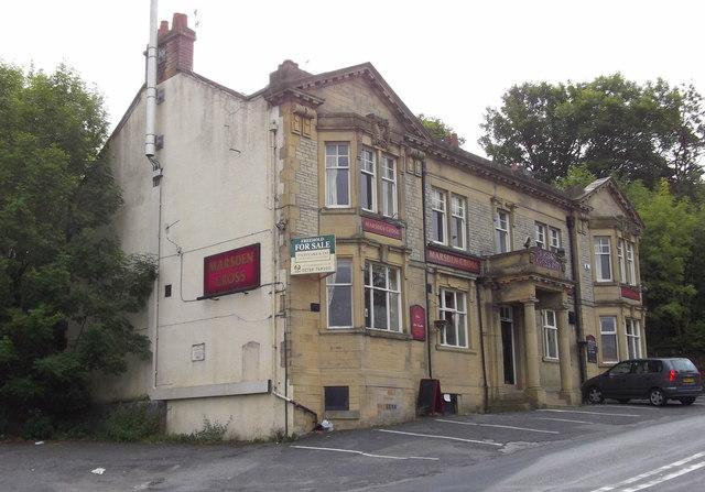"""""""The Marsden Cross Inn"""" (Pub) 30 Higher Reedley Road, Brierfield, Nelson BB9 5HA"""