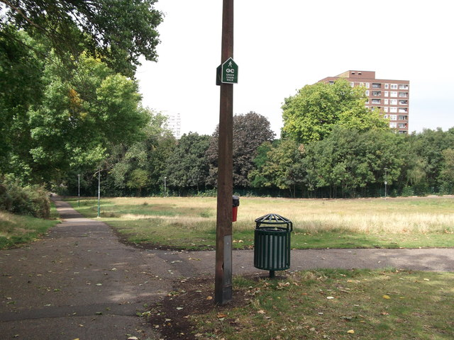 Green Chain Walk to Blendon Terrace