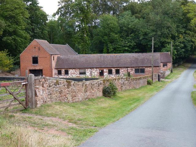 Barn conversions at Rudge