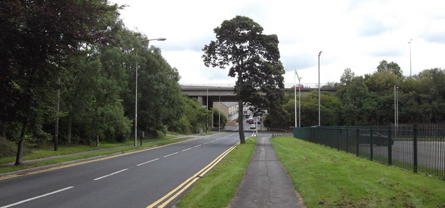 M65 Bridge over the B6249 Carr Road, Nelson