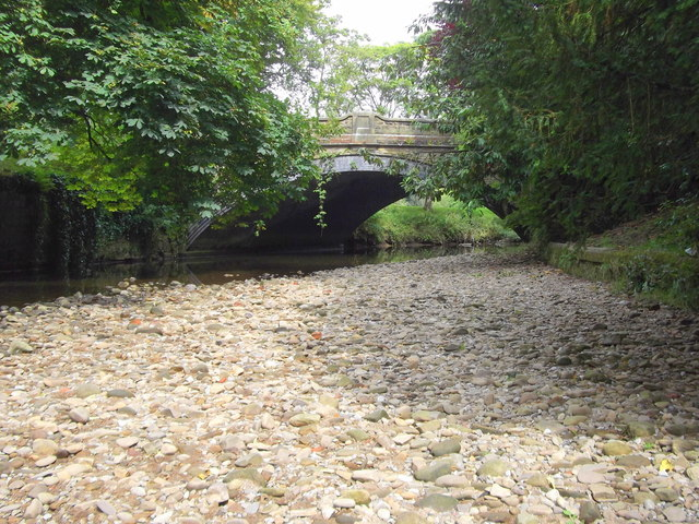 Bridge over Pendle Water, B6249 Carr Road, Nelson