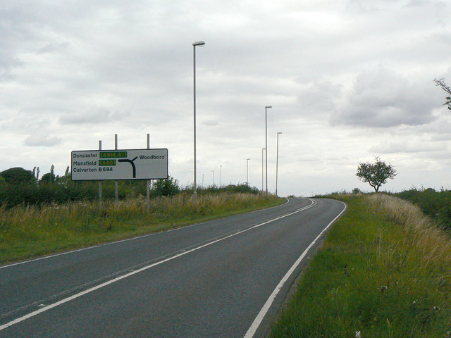 Approach to Woodborough turn