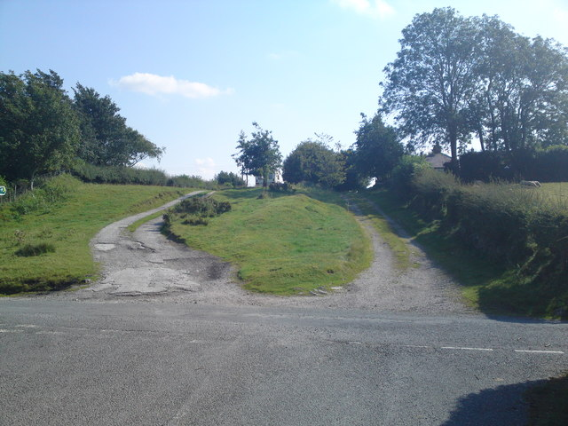 The old coach road looking South