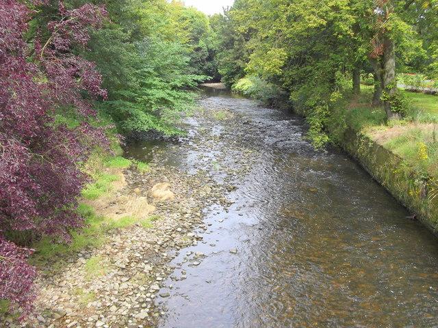 Pendle Water, Victoria Park, Nelson, Lancashire