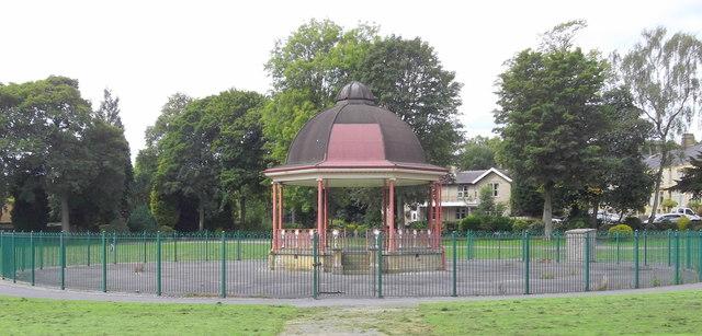Bandstand, Victoria Park, Nelson, Lancashire