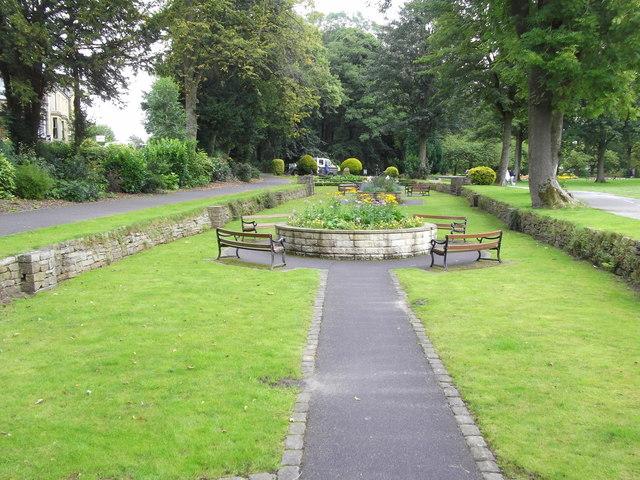 Sunken Garden, Victoria Park, Nelson, Lancashire