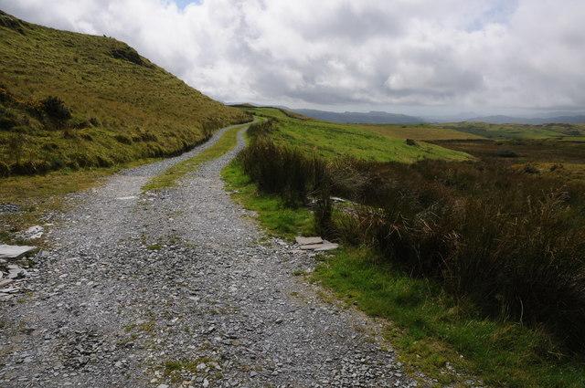 Track to Bryn-llech