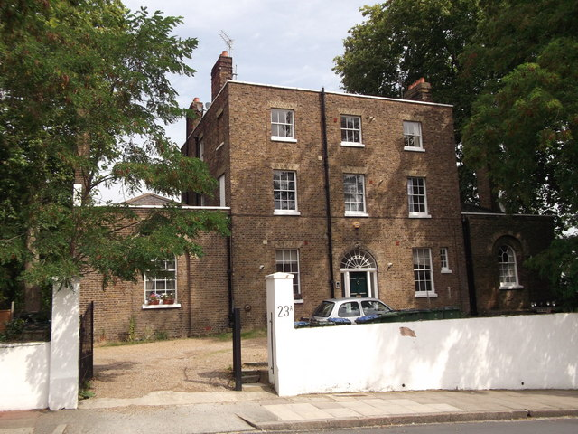 The Old Vicarage, Woolwich