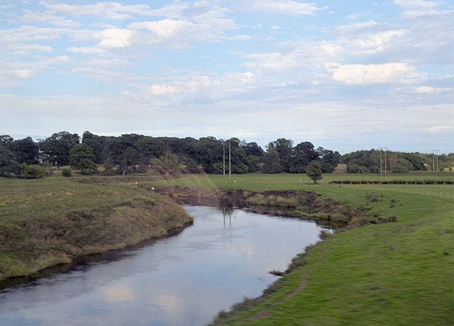 River Wharfe at Ulleskelf