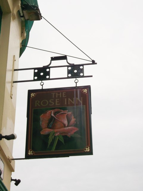 The Rose Inn Pub Sign, Woolwich