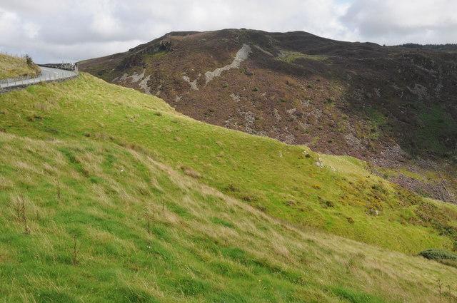 Above Afon Cynfal