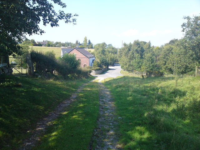 The old coach road looking North
