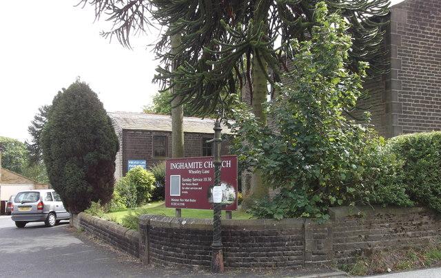 """Inghamite Church Fence"" Wheatley Lane Road, Fence, Burnley BB12 9QG"
