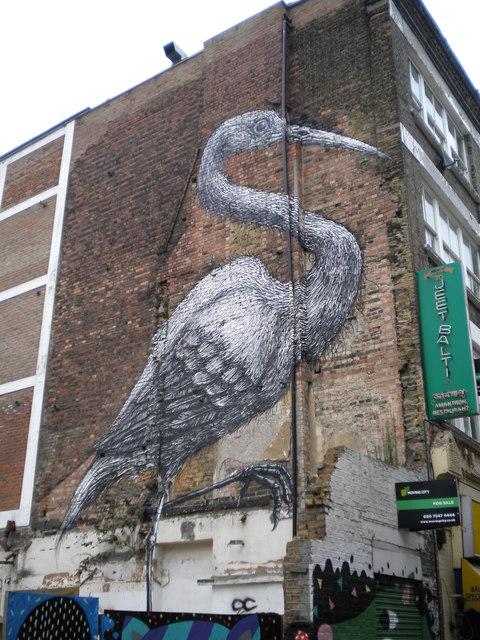 Mural, Hanbury Street E1