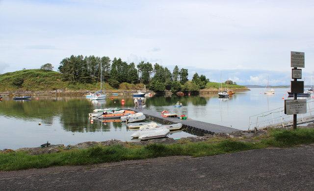 Landing stage, Crinan Harbour