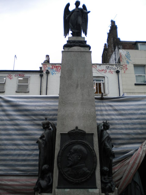 Edward VII Monument, Whitechapel Road E1