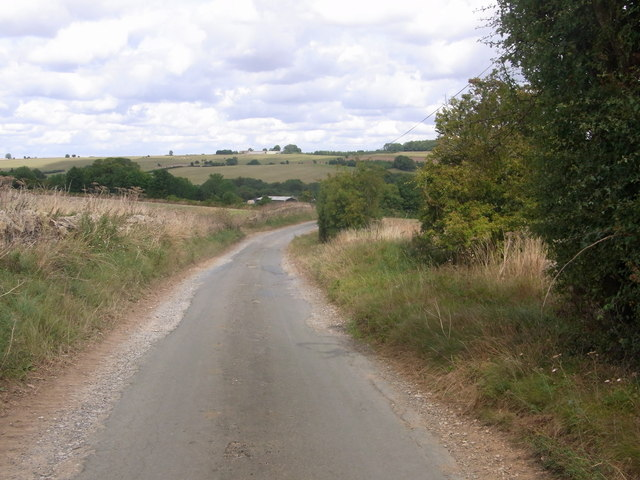 Drive to Aston Farm