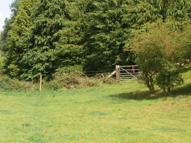 Bridleway gate
