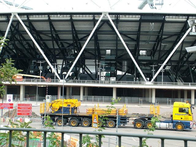 Part of the main Olympic Stadium