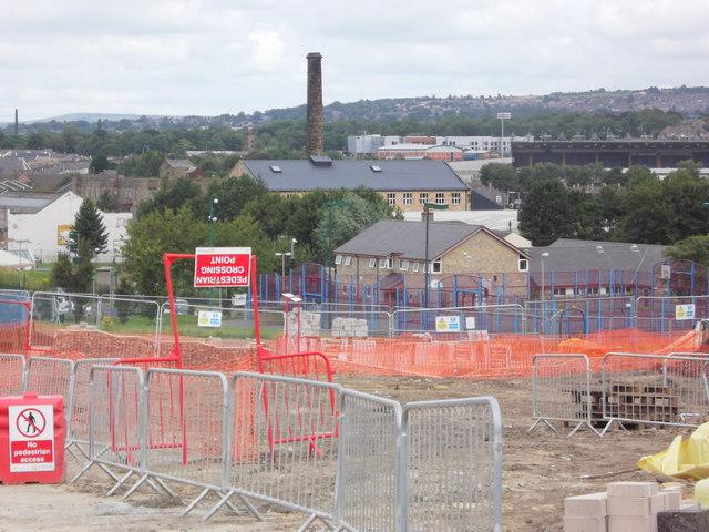 Building Site, Burnley Wood, Burnley