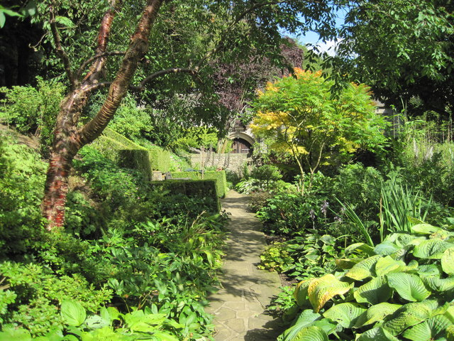 The Chapel Garden at Percevall Hall
