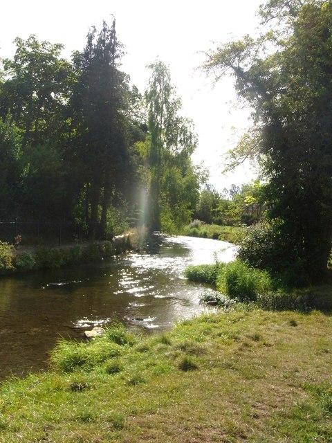 Sunlight on the River Windrush