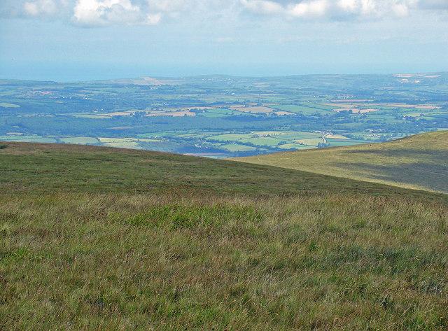 Northern slopes of Foel Cwmcerwyn