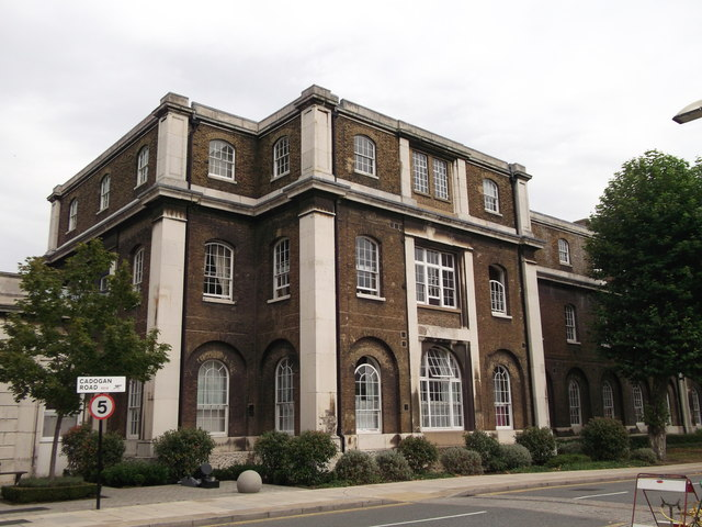 Part of B36, Royal Arsenal