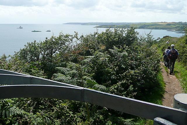 Coast path at Newporth Head