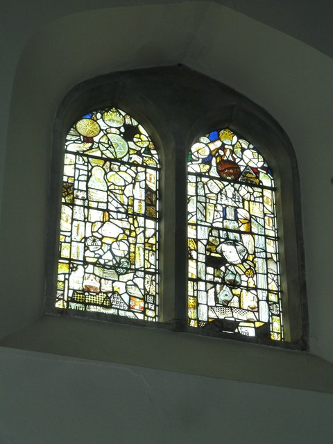 Church of the Assumption of the Blessed Virgin Mary Upper Froyle- stained glass window (8)