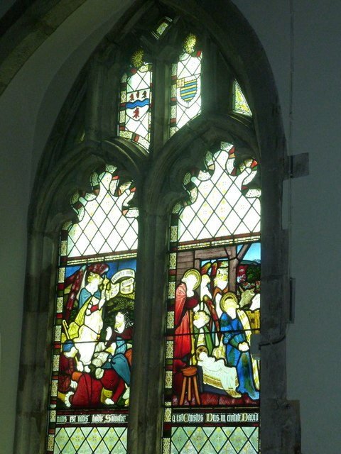 Church of the Assumption of the Blessed Virgin Mary Upper Froyle- stained glass window (10)