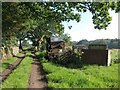 SE2654 : Footpath at The Oatlands by Derek Harper
