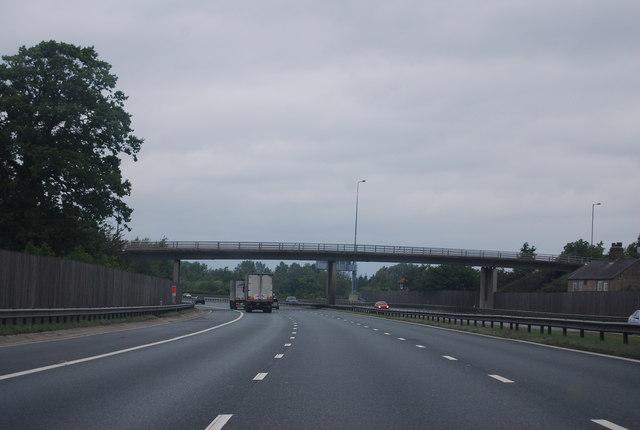A168 overbridge, A1(M)