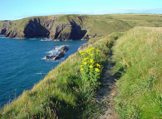 Coast Path View: Moylgrove