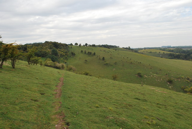 Path from Deacon Hill