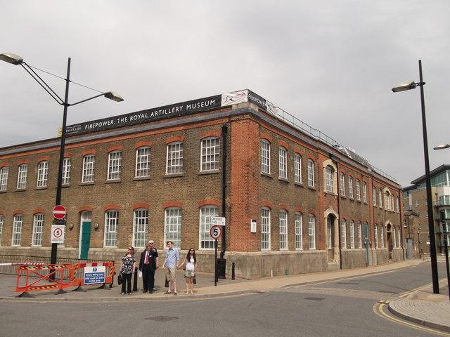 Firepower, the Royal Artillery Museum, Royal Arsenal