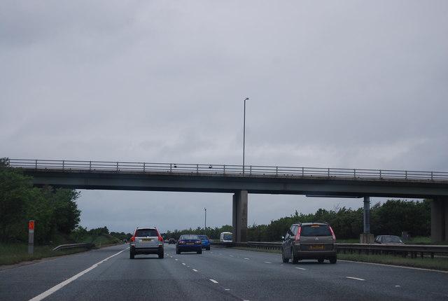 Bridge over the A1(M)