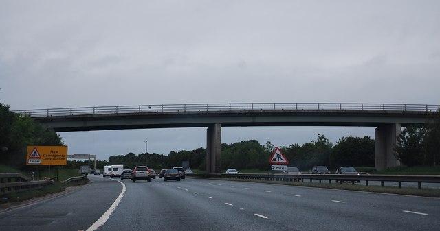 Bridge over the A1(M) near Dishforth