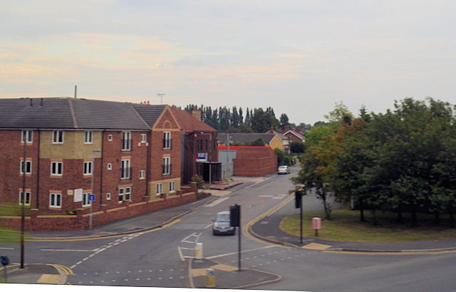 Road junction of Holmsfield Lane and Denby Dale road
