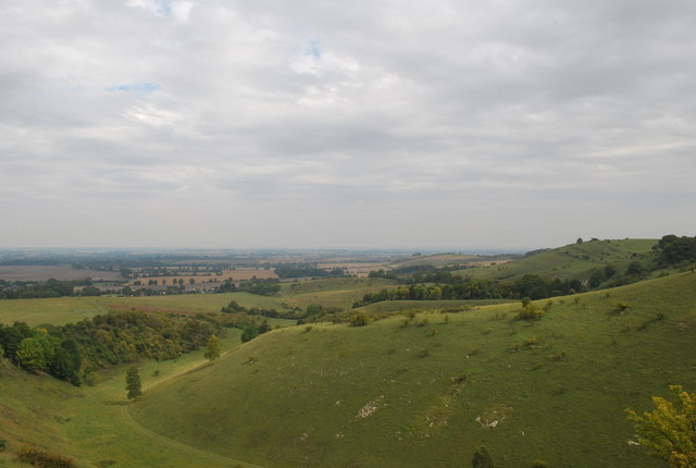 Panoramic view of Deacon Hills