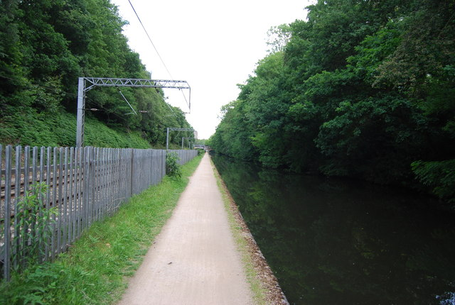 Towpath, Worcester and Birmingham Canal