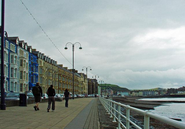 Promenade, Aberystwyth