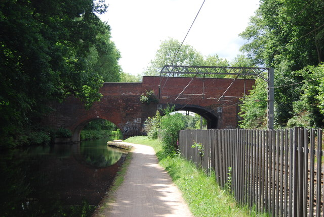 Worcester and Birmingham Canal, bridge 83