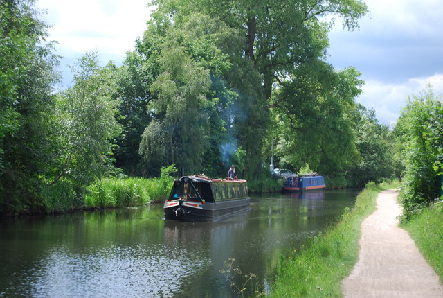 Narrowboats, Worcester and Birmingham Canal